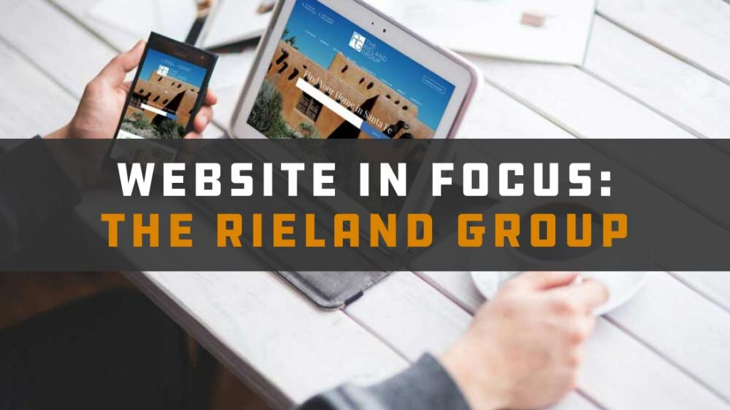 Website in Focus: The Rieland Group
