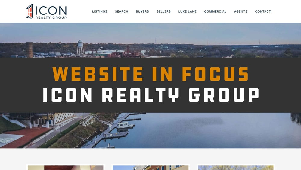 Website in Focus: Icon Realty Group